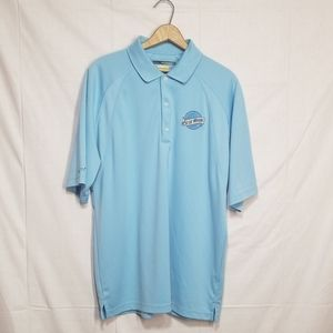 Greg Norman Blue Moon Beer Polo Large